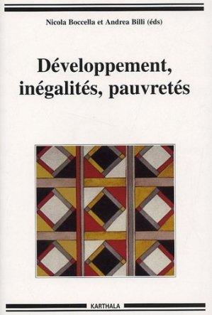 Développement, inégalités, pauvretés - Karthala - 9782845866614 -