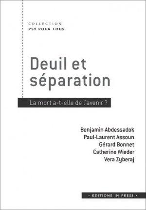 Deuil et séparation - in press - 9782848355474