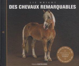 Des chevaux remarquables - contre dires - 9782849333099 -