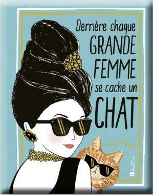 Derrière chaque grande femme se cache un chat - Christine Bonneton - 9782862538877 -