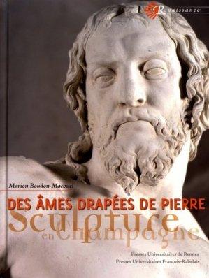 Des âmes drapées de pierre - presses universitaires francois rabelais - 9782869064348 -