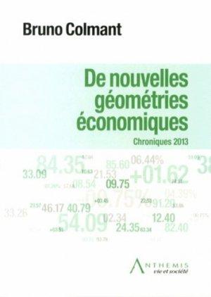 De nouvelles géométries économiques - Anthemis - 9782874556531 -