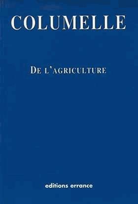 De l'Agriculture - errance - 9782877722209 -