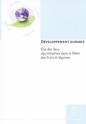 Développement durable - ctifl - 9782879113203 -