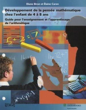 Développement de la pensée mathématique chez l'enfant de 4 à 8 ans - CRP (Editions du) - 9782894740651 -