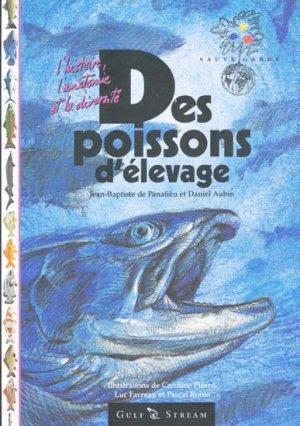 Des poissons d'élevage - gulf stream éditeur - 9782909421315 -