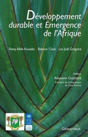 Développement durable et émergence de l'Afrique - Grandvaux - 9782909550985 -