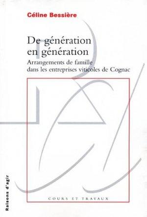 De génération en génération - raisons d'agir - 9782912107510 -