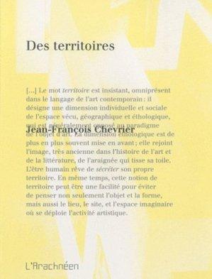 Des territoires - L'Arachnéen - 9782952930260 -