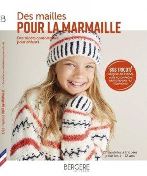 Des mailles pour la marmaille - Bergère de France - 9782955793381 -