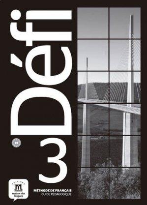Défi 3 - Maison des langues - 9788416943678 -