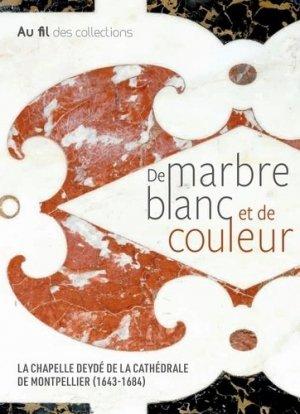 De marbre blanc et de couleur - snoeck publishers - 9789461615862 -