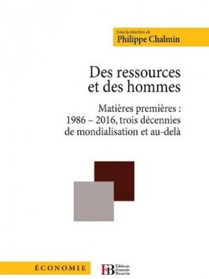 Des ressources et des hommes - francois bourin - 9791025201893 -