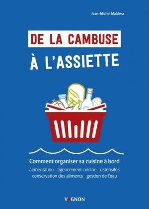 De la cambuse à l'assiette - vagnon - 9791027103423 -