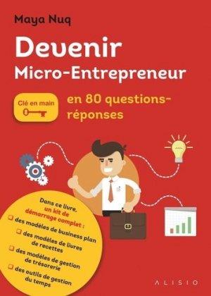 Devenir micro-entrepreneur en 80 questions/réponses - A Contre Courant - 9791092928273 -