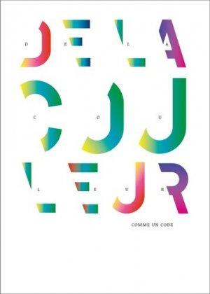 De la couleur. (comme un code) - Zeug - 9791095902003 -