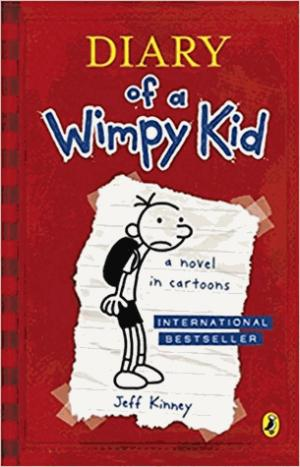 Diary Of A Wimpy Kid (Book 1) - penguin - 9780141324906 -