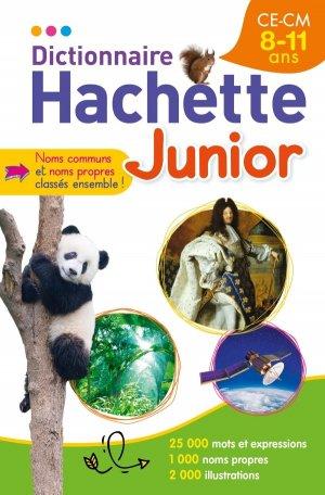 Dictionnaire Hachette Junior - CE-CM - 8-11 ans - hachette - 9782013951395 -