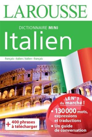 Dictionnaire mini italien - larousse - 9782035935304 -