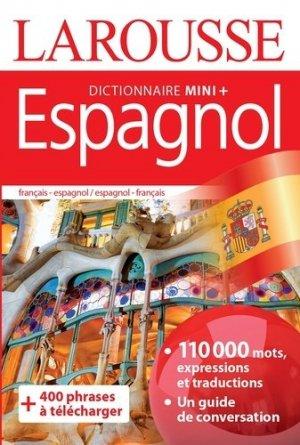 Dictionnaire mini plus espagnol - larousse - 9782035952066 -