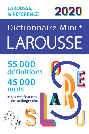Dictionnaire Larousse Mini plus 2020 - larousse - 9782035972743 -