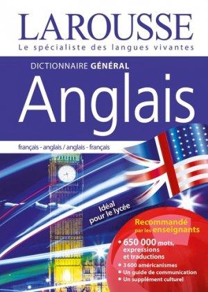 Dictionnaire général français-anglais - larousse - 9782035973122 -