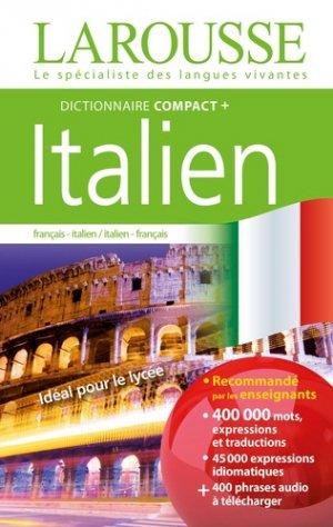 Dictionnaire Compact plus Italien - Larousse - 9782035973191 -