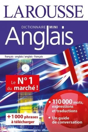 Dictionnaire mini anglais - Larousse - 9782035974655 -