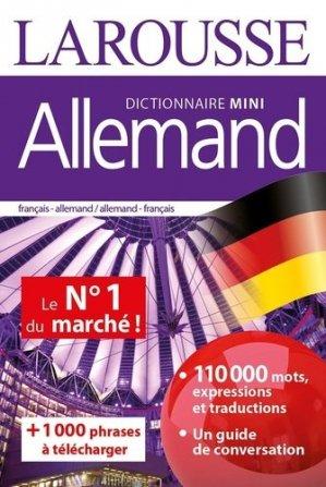 Dictionnaire mini allemand - Larousse - 9782035974662 -