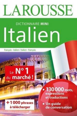 Dictionnaire Mini Italien - Larousse - 9782035974679 -