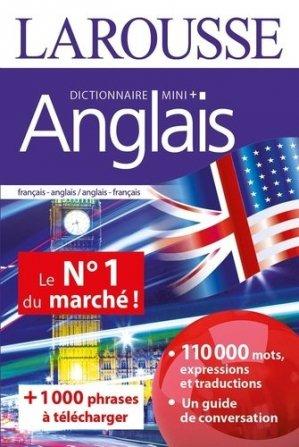 Dictionnaire Mini Plus anglais - Larousse - 9782035974730 -