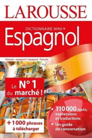Dictionnaire mini plus espagnol - Larousse - 9782035974754 -