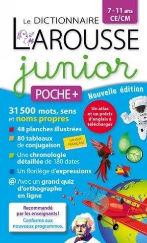 Dictionnaire Larousse junior poche plus CE/CM - Larousse - 9782035999993 -