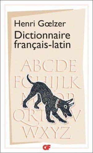 Dictionnaire Français-Latin - Flammarion - 9782080701244 -