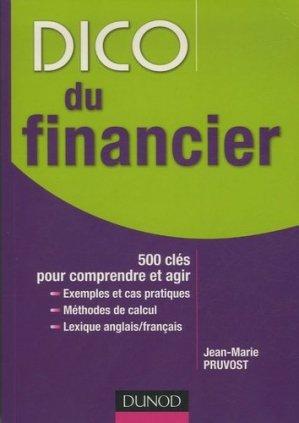 Dico du financier - Dunod - 9782100504527 -