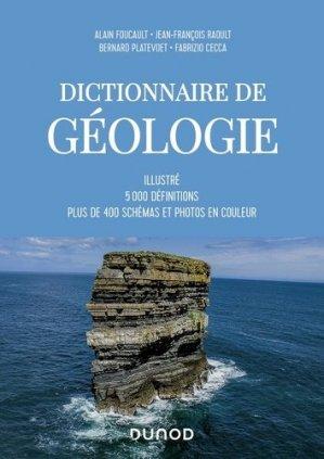 Dictionnaire de Géologie - dunod - 9782100800506 -