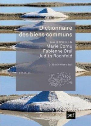 Dictionnaire des biens communs - puf - presses universitaires de france - 9782130817680 -