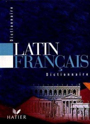 DICTIONNAIRE LATIN FRANCAIS  - HATIER - 9782218721656 -