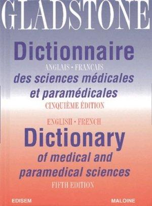 Dictionnaire anglais-français des sciences médicales et paramédicales - edisem / maloine - 9782224027445 -