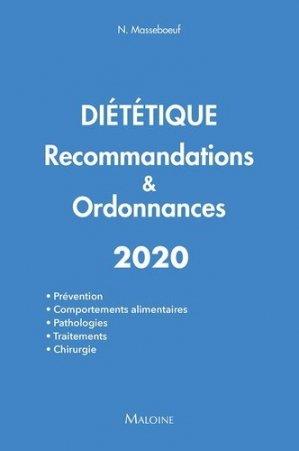 Diététique 2020 Recommandations & Ordonnances - maloine - 9782224035815 -