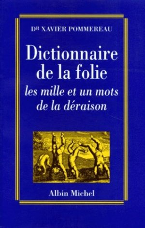 Dictionnaire de la folie - albin michel - 9782226076878 -