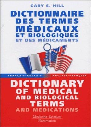 Dictionnaire des termes médicaux et biologiques et des médicaments - lavoisier msp - 9782257101693 -