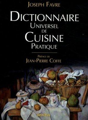 Dictionnaire universel de cuisine pratique - presses de la cité - 9782258151437 -