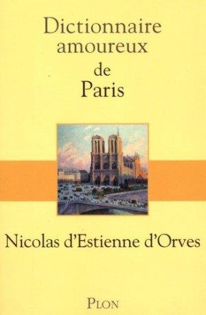 Dictionnaire amoureux de Paris - plon (éditions) - 9782259217491 -