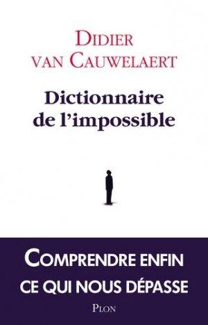 Dictionnaire de l'impossible - plon (éditions) - 9782259219273 -