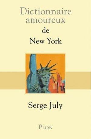Dictionnaire amoureux de New York - plon (éditions) - 9782259248419 -