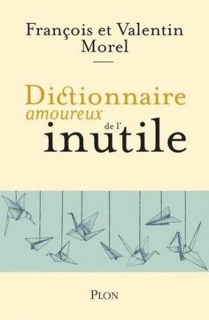 Dictionnaire amoureux de l'inutile - plon (éditions) - 9782259264723 -