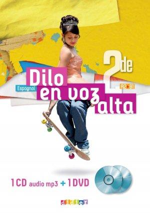 Dilo En Voz Alta 2de (Ed.2019) - Coffret Classe 2 CD audio + 1 DVD - Didier - 9782278093458 -