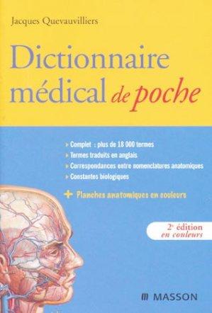 Dictionnaire médical de poche - elsevier / masson - 9782294701290 -