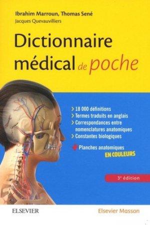 Dictionnaire médical de poche - elsevier / masson - 9782294747212 -